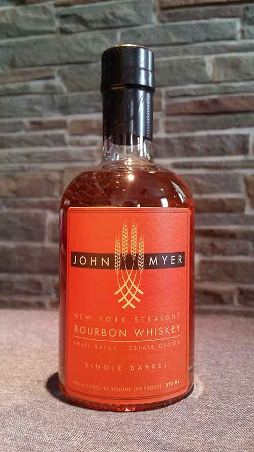 John Myer New York Straight Bourbon Whiskey-Single Barrel