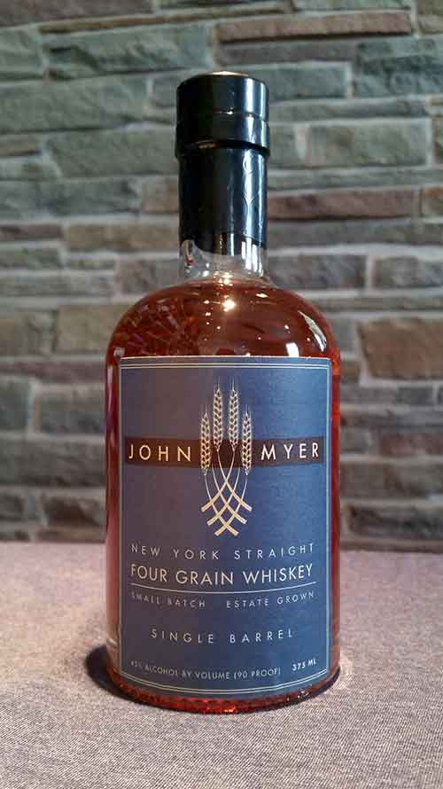John Myer New York Straight Four Grain Whiskey-Single Barrel