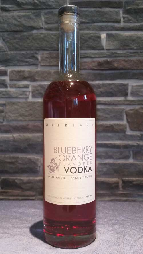 Myer Farm Blueberry Orange Vodka